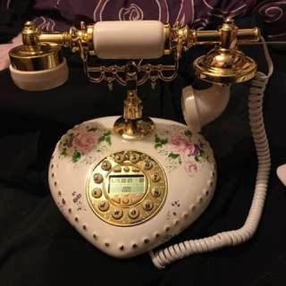 全新有來電顯示復古懷舊電話