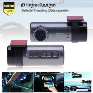 Mini WiFi Car DVR Camera Front DVR Camera Full HD 1080p