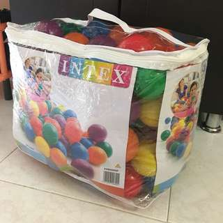 Colourful Balls (100 pcs) for Ball Pit