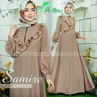SAMIRE DRESS BAHAN BALOTELY FIT L