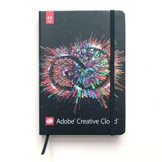 Adobe Creative Cloud Hard Cover Notebook 1