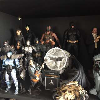 Hot Toys Dark Knight Rises Figures Batman, Catwoman and Bane