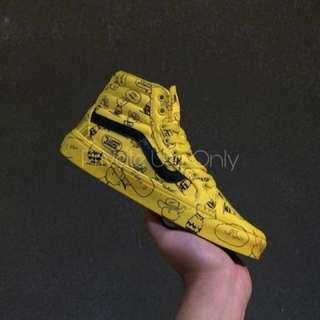 Peanuts 'Charlie' x Vans Sk8-Hi Reissue Yellow