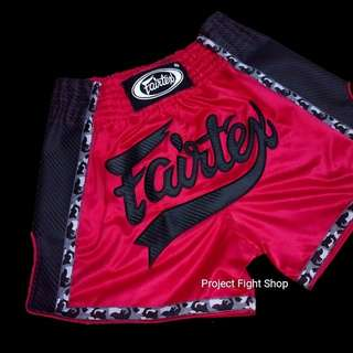 Fairtex Premium Edition Black Kevlar Muay Thai MMA Boxing Shorts