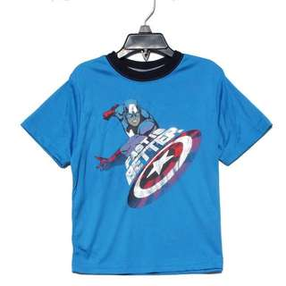 Authentic dry fit Avengers size 3,4,5,5,6,7 ready stock