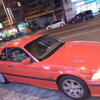 BMW E36 敞篷車 不含硬頂出售