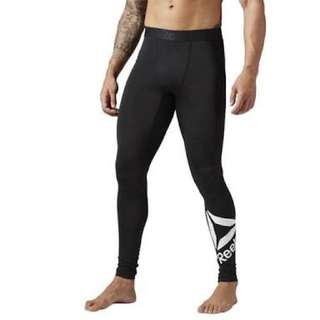 Reebok workout ready compression men's thight/legging