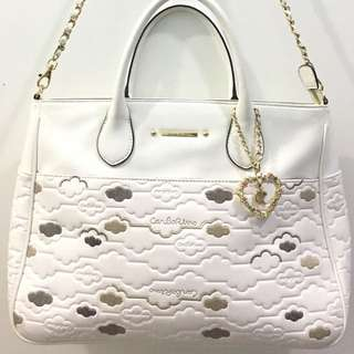 Original White Carlo Rino Handbag