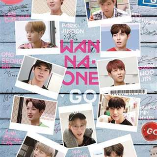 [PO/PROMO] WANNA ONE GO DVD