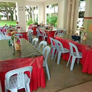 Tables n Chairs Rental