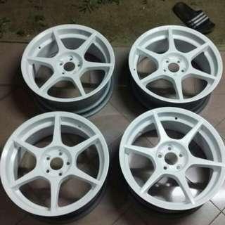 """Taiwan P1 Racing 17"""" rims"""