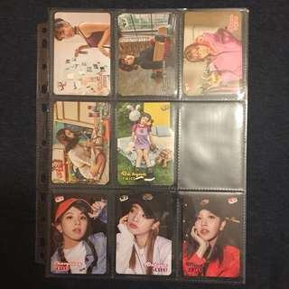 (1套8張) Yes card TWICE