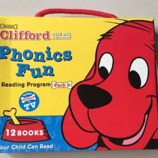 Clifford the Big Red Dog Phonics Fun Pack: Reading Program Pack 6