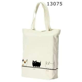 Neko Sankyodai 日本 三色貓 黑貓 白貓 側揹袋
