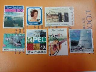 New Zealand Stamps Used