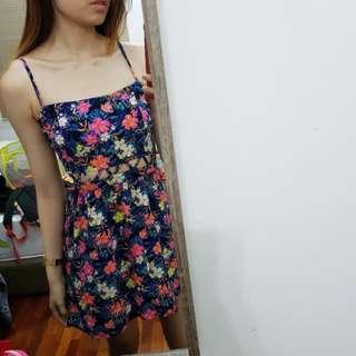 H&M Floral Dress #cny88