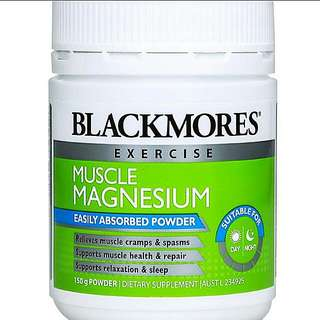 New And Sealed Blackmores Muscle Megnesium Powder