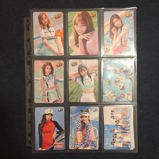 (1套9張) Yes card TWICE