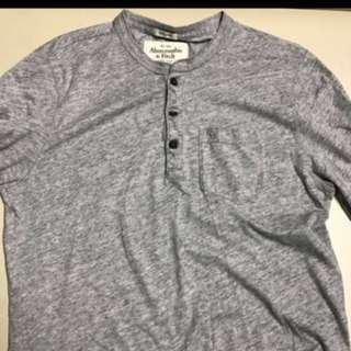 Abercrombie and Fitch L/S Henley