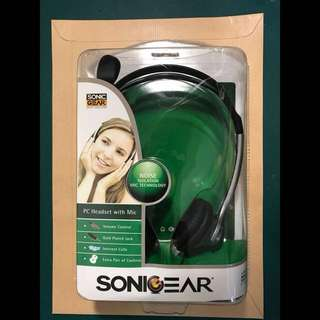 [BNIB] Sonic Gear Multimedia Headset H5405