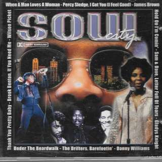 MY CD - SOUL CITY - //FREE DELIVERY