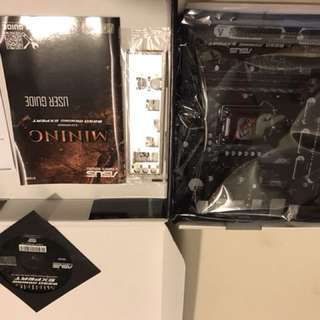 ASUS B250 Mining Expert Motherboard (New Stock) Local 3 Year Warranty !!