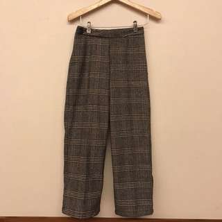 Celana Trousers/ checked trousers/ plaid trousers