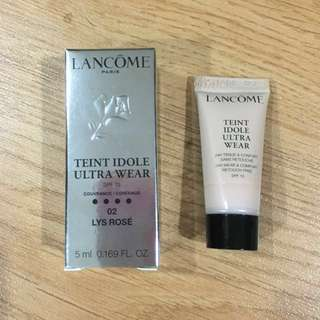 [Deluxe Size] Lancome Teint Idole Ultra Wear Foundation (02 Lys Rose)