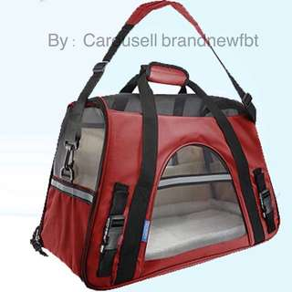 Pet Carrier Portable Pet Carrier Net Bag for Dog & Cat pet bag