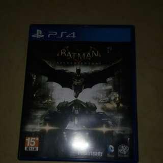 Batman Arkham Knight (Kaset PS 4)