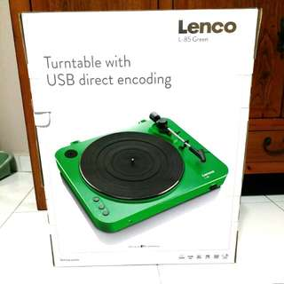 Lenco L-85 Turntable with USB direct encoding