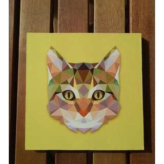 Hiasan Dinding Kucing Home Decoration