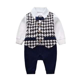 Handsome romper for baby boy