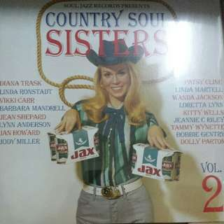 Vinyl Record / 2xLP: Various–Country Soul Sisters Vol.2: Women In Country Music 1956-78 - Soul Jazz Records