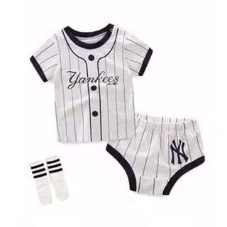 Baby boy summer two piece set
