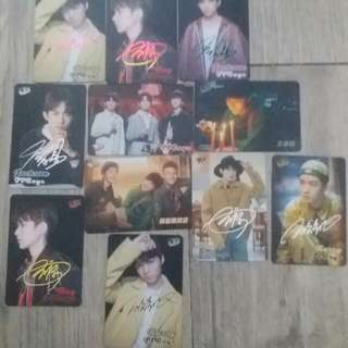TFBOYS yes card 2元1張