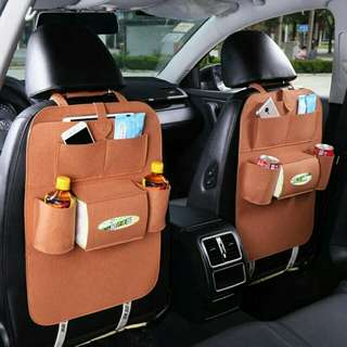 Car backseat storage