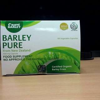 Santé Barley Pure From New Zealand