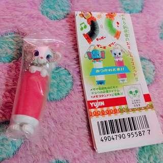 🔆特價中🔆Yujin 絕版Disney 瑪莉貓 彈簧造型吊飾 扭蛋