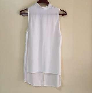 Zara hi low long top