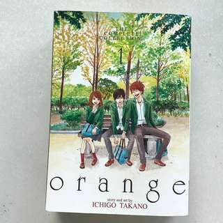 orange vol 1-3 (complete collection)