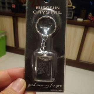 刘 Eurosun Crystal keychain