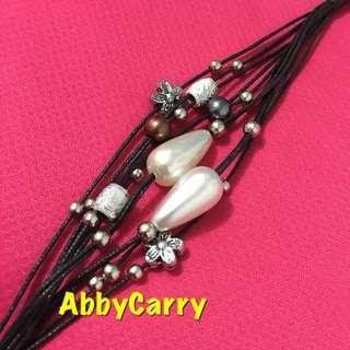 👍🏽 泰國 黑色 創作手工編織手繩 型格獨特 多款易襯衫 獨立包裝 送禮自用皆宜 (白色)