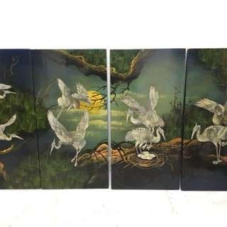 Cranes screen