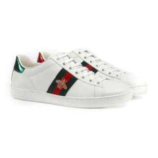 [PO] Gucci Ace Bee Sneakers White