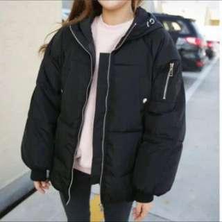 韓版 鋪棉 保暖 外套