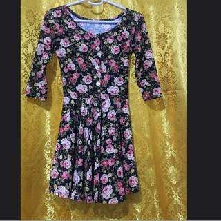 Repriced! Floral Dress