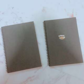 MUJI BRAND NEW PLAIN B5 NOTEBOOKS UNLINED