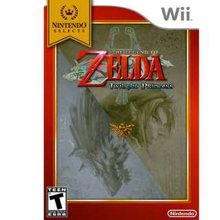 Nintendo Wii The Legend of Zelda Twilight Princess Game MIB BRAND NEW