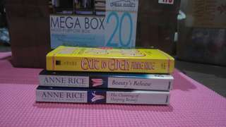 Anne Rice books (take all)